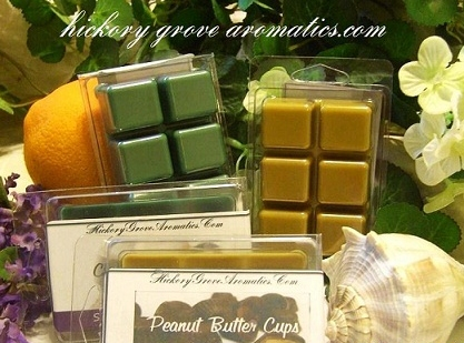 Alyssum  SCENT BAR-Break-a-Part Tarts-scent bar, wickless candle, alyssum tarts, simmering wax, waffle bar, simmering, break-a-part tarts, breakapart tarts, alyssum scent bar