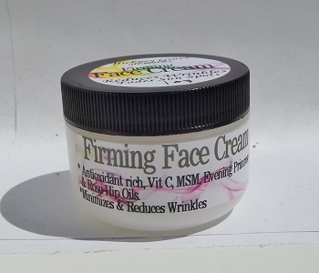 Powerpacked Firming Facial Moisturizer-natural moisturizer, anti-aging moisturizer, natural anti aging, natural face cream, squalane cream, firming cream, wrinkle cream, anti wrinkle cream