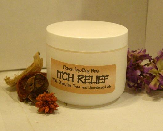 ITCH RELIEF- Jewelweed Poison Ivy /Bug Bite Cream  4oz-jewelweed, poison ivy relief, jewelweed cream, itch relief, poison ivy cream, jewel weed poison ivy, poison ivy