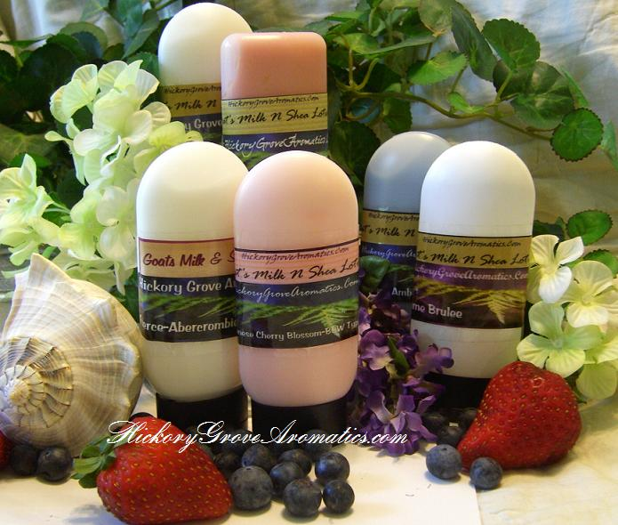 2 oz Goat's Milk & Shea Scented Lotion-body lotion, moisturizing lotion, handmade lotion, scented lotion, goats milk lotion,shea lotion