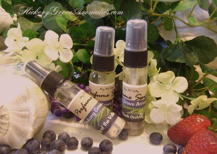 1oz Moisturizing Perfume Spray Pick Your Scent-perfume, perfume spray, designer fragrances, designer perfume, hand made perfume, dry oil perfume