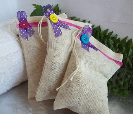 Toss In Bags 3 Toss In Bags Organic Dryer/Car Sachet Lilac-dryer sachet, fabric softener, dryer scent, eco friendly, eco friendly dryer sheets, fabric freshener, lilac dryer freshener, lilac dryer sachet, laundry bags
