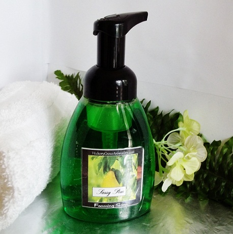 Alyssum Foaming Hand Soap-foaming soap, alyssum foaming soap, hand soap, alyssum hand soap, natural hand soap, alyssum soap