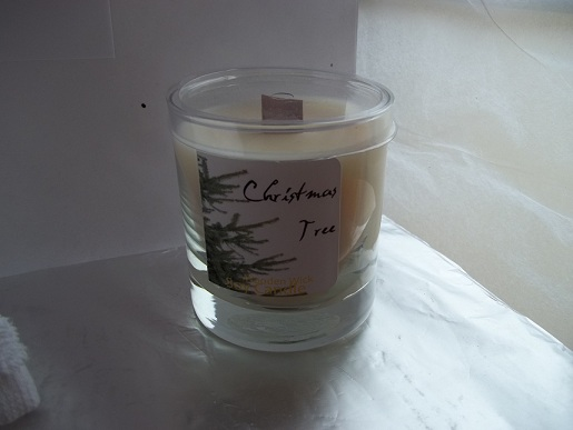 Christmas Tree/Pine Forest 12 oz Wood Wicked Soy Candle-pine forest candle, christmas tree soy candle, pine candle, Christmas tree scented candle, pine scented candle
